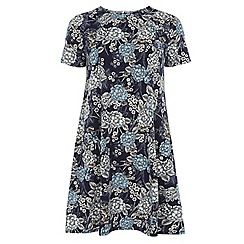 Dorothy Perkins - Tall floral zip back tunic