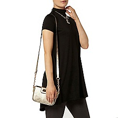 Dorothy Perkins - High neck cap sleeve tunic