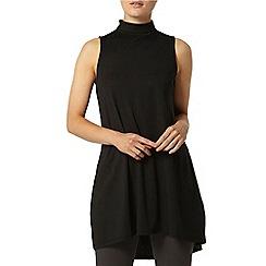 Dorothy Perkins - High neck sleeveless tunic