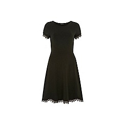 Dorothy Perkins - Tall green lace trim dress