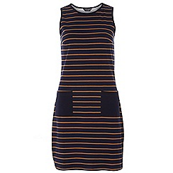 Dorothy Perkins - Tall stripe pocket shift dress