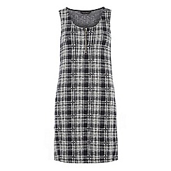 Dorothy Perkins - Tall check sleeveless dress