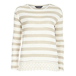 Dorothy Perkins - Tall lace hem jersey knit