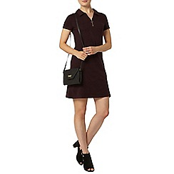 Dorothy Perkins - Raisin zip shift dress