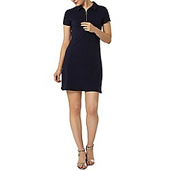 Dorothy Perkins - Navy zip shift dress