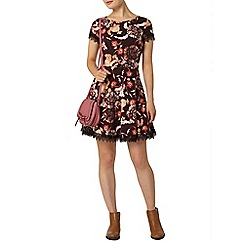 Dorothy Perkins - Floral lace trim dress
