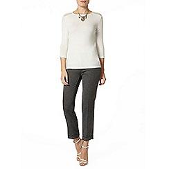 Dorothy Perkins - Silver embellished jersey knit