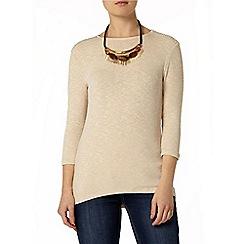 Dorothy Perkins - Oat embellished jersey knit