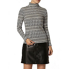 Dorothy Perkins - Stripe roll neck top