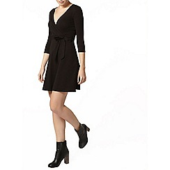 Dorothy Perkins - Black wrap dress
