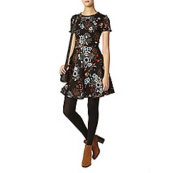 Dorothy Perkins - Tall floral pom pom dress