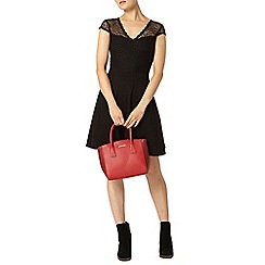 Dorothy Perkins - Back v neck lace dress