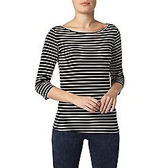 Dorothy Perkins - Stripe 3/4 sleeve top