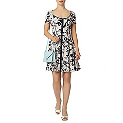 Dorothy Perkins - Lily floral placket skater dress