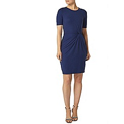 Dorothy Perkins - Blue soft touch knot dress