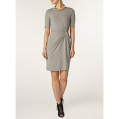Dorothy Perkins - Grey soft manipulated dress