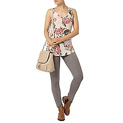 Dorothy Perkins - Blush floral tile vest top
