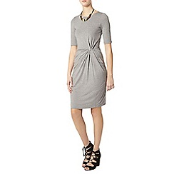 Dorothy Perkins - Tall grey manipulated dress