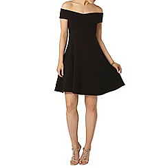 Dorothy Perkins - Black bardot dress