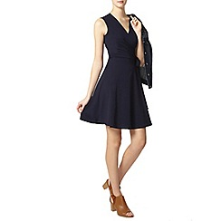 Dorothy Perkins - Tall navy wrap dress