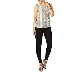 Dorothy Perkins - Snake metal bar wrap top