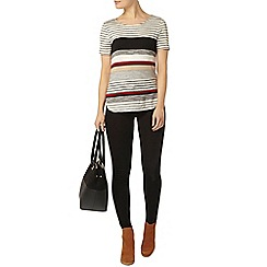Dorothy Perkins - Stripe variegated top
