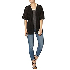 Dorothy Perkins - Black textured lace cardigan