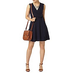 Dorothy Perkins - Navy wrap dress