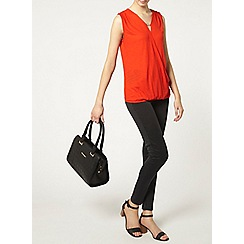 Dorothy Perkins - Tall metal bar wrap top