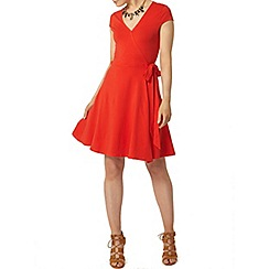 Dorothy Perkins - Red wrap dress