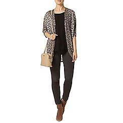 Dorothy Perkins - Grey faded leopard cardigan