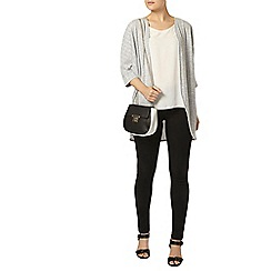 Dorothy Perkins - Grey pointelle cardigan