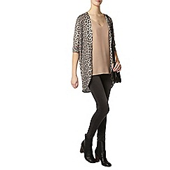 Dorothy Perkins - Tall grey leopard cardigan