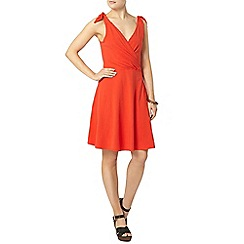Dorothy Perkins - Red bow strap dress
