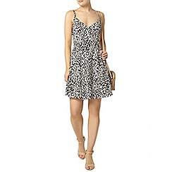 Dorothy Perkins - Black ditsy print camisole dress