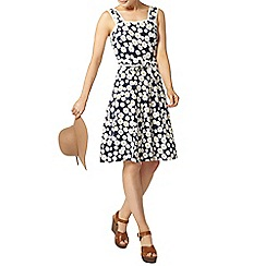 Dorothy Perkins - Navy daisy sundress