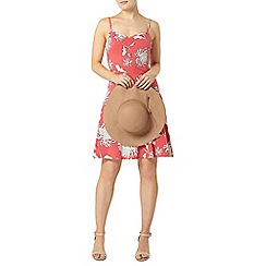Dorothy Perkins - Rose floral ruched camisole dress