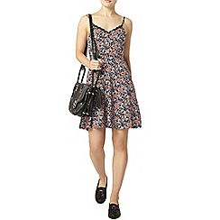 Dorothy Perkins - Black ditsy lace camisole dress