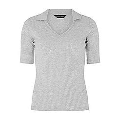 Dorothy Perkins - Grey polo shirt