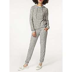 Dorothy Perkins - Grey brushed joggers