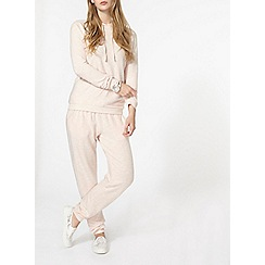 Dorothy Perkins - Blush brushed joggers