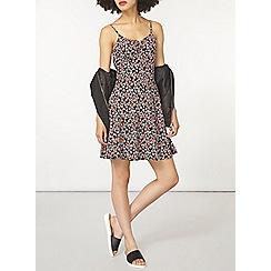Dorothy Perkins - Black floral camisole dress