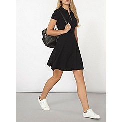 Dorothy Perkins - Black fit and flare dress