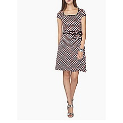 Dorothy Perkins - Tall black fan tie dress