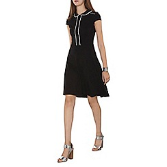 Dorothy Perkins - Tall black and ivory collar dress
