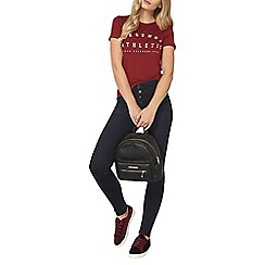 Dorothy Perkins - Wine legend athletic t-shirt