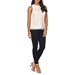Dorothy Perkins - Nude lace shell top