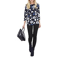 Dorothy Perkins - Tall navy floral t-shirt