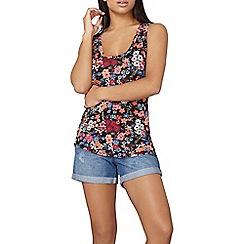 Dorothy Perkins - Multi floral vest top