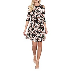 Dorothy Perkins - Black floral dress